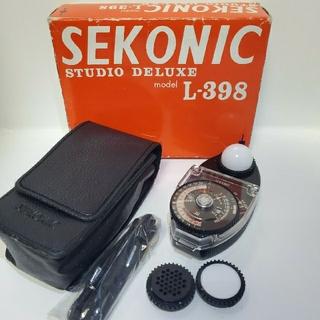 SEKONIC L-398 セコニック スタジオデラックス (露出計)