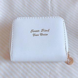 小さなお財布 ホワイト(財布)