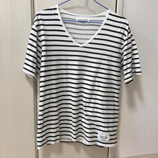 ワコマリア(WACKO MARIA)のWAKCO MARIA ワコマリア ボーダーTシャツ(Tシャツ/カットソー(半袖/袖なし))