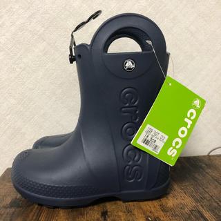 crocs - クロックス crocs レインブーツ キッズ 18.5cm【新品・未使用】