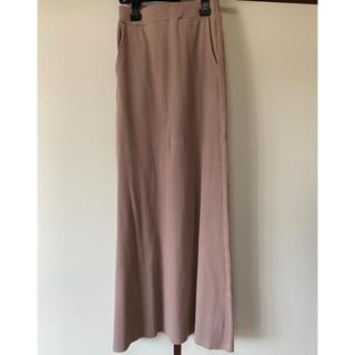 コウベレタス(神戸レタス)の神戸レタス カットできるリブスカート(ロングスカート)