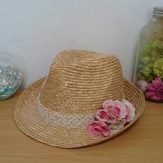 リズリサ(LIZ LISA)の麦わら帽子(麦わら帽子/ストローハット)