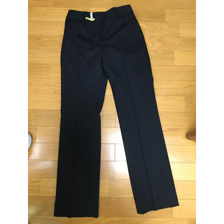 ナチュラルビューティー(NATURAL BEAUTY)のスラックス パンツスーツ ブラック(スーツ)