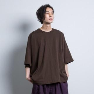 ドゥルカマラ(Dulcamara)のDulcamara square short sleeve tee purple(Tシャツ/カットソー(半袖/袖なし))