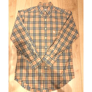 Burberry(バーバリー) ノヴァチェック柄 長袖シャツ Sサイズ