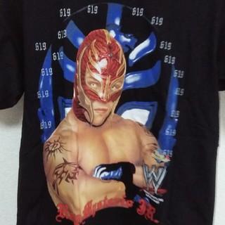 WWE ‼️レイ.ミステリオJr.Tシャツ 黒 サイズL(格闘技/プロレス)