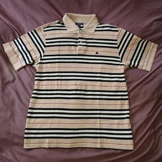 バーバリー(BURBERRY)のバーバリー BURBERRYワンポイント バーバリーチェックカラー半袖ポロ(Tシャツ/カットソー(半袖/袖なし))