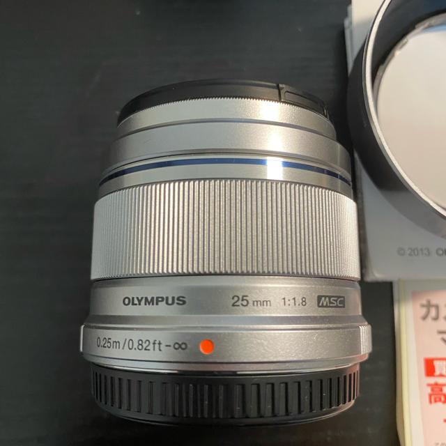 OLYMPUS(オリンパス)のM.ZUIKO DIGITAL 25mm F1.8 (OLYMPUS) スマホ/家電/カメラのカメラ(レンズ(単焦点))の商品写真