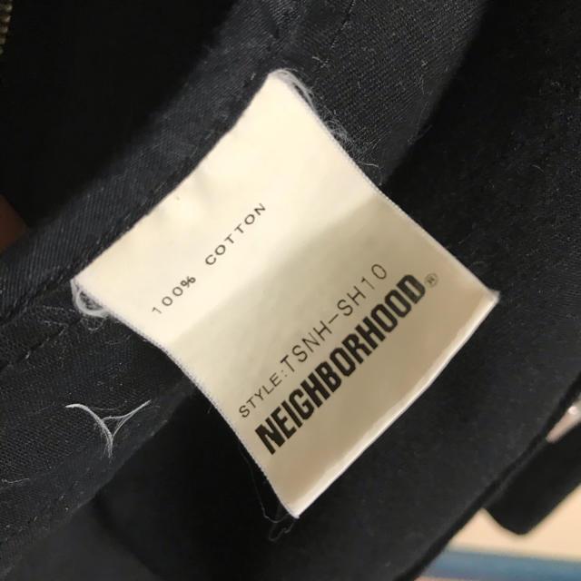 NEIGHBORHOOD(ネイバーフッド)のネイバーフッド neighborhood  黒 週末セール 刺繍ジャケート メンズのジャケット/アウター(Gジャン/デニムジャケット)の商品写真