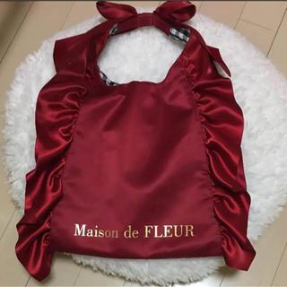 Maison de FLEUR - メゾンドフルール リボンフリルトート