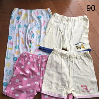 アンパンマン(アンパンマン)のキッズ 女の子 パンツ 80 90 4枚セット(パジャマ)