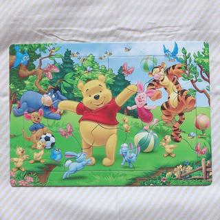 ディズニー(Disney)の子供用 パズル 12ピース プーさん(知育玩具)