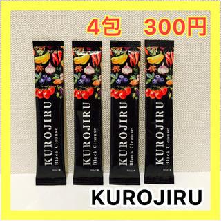 FABIUS - KUROJIRU 黒汁×4包