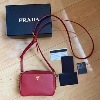 PRADA - 美品 PRADA プラダ サフィアーノ ミニ ショルダーバッグ ショルダーポーチ