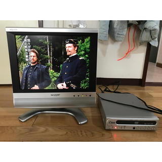 アクオス(AQUOS)のAQUOS LC-13S4-S DVDプレーヤー付き!(テレビ)