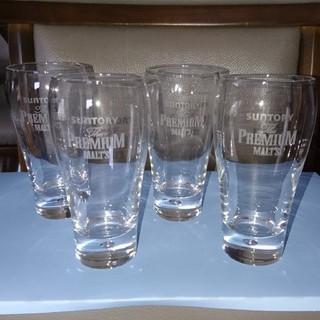 トウヨウササキガラス(東洋佐々木ガラス)のザ・プレミア・モルツグラス(4個セット)(グラス/カップ)