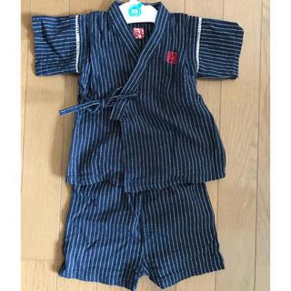ニシマツヤ(西松屋)のベビー甚平 80サイズ   男の子用(甚平/浴衣)