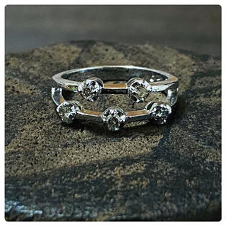 シルバー925 ダイヤ リング(リング(指輪))