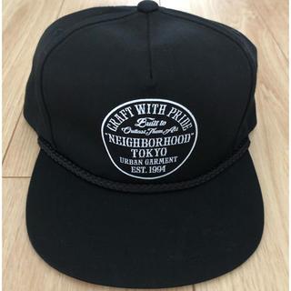 NEIGHBORHOOD - [美品]neighborhood(ネイバーフッド) キャップ ブラック