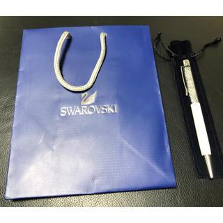 スワロフスキー(SWAROVSKI)の【未使用品】Swarovski スワロフスキー ボールペン(ペン/マーカー)