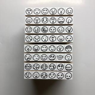顔文字スタンプ48個セット