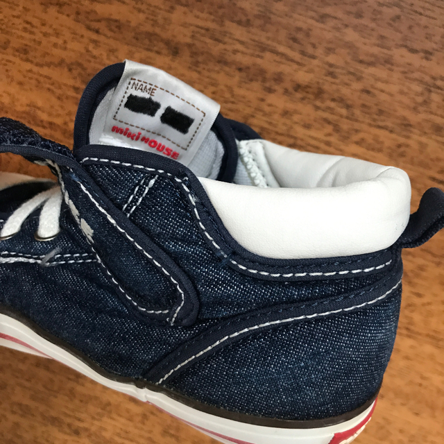 mikihouse(ミキハウス)のmiki HOUSE ハイカット スニーカー 16.0㎝ キッズ/ベビー/マタニティのキッズ靴/シューズ(15cm~)(スニーカー)の商品写真