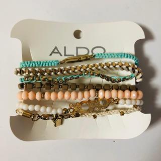 アルド(ALDO)の新品 ALDO ブレスレット7個セット(ブレスレット/バングル)