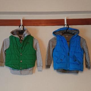ユニクロ(UNIQLO)の冬物 子供服まとめ売り 110cm 4着(ジャケット/上着)