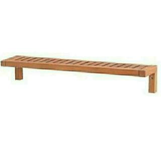 イケア(IKEA)のIKEA イケア /木製棚 ウォールシェルフ (棚/ラック/タンス)