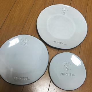 ピーナッツ(PEANUTS)のスヌーピー PEANUTS Cafe ラウンドプレートセット(食器)