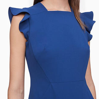 Calvin Klein - Calvin Klein カルバンクライン ワンピース ドレス ブルー