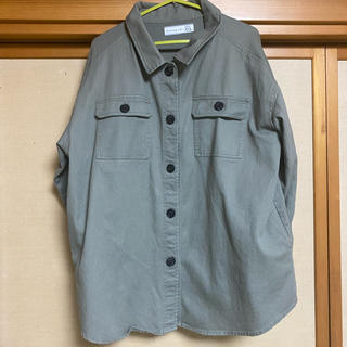 シマムラ(しまむら)のプチプラのあや CPOシャツ M  しまむら(ミリタリージャケット)