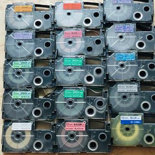 カシオ(CASIO)のカシオネームランドテープ16本(オフィス用品一般)