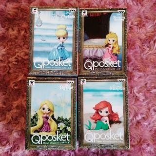 ディズニー(Disney)のキューポスケット☆Q posket☆ディズニープリンセス☆四個セット売り(その他)