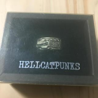 ヘルキャットパンクス(HELLCATPUNKS)のHELLCATPUNKS ジッパーリング 15号 ヘルキャットパンクス(リング(指輪))