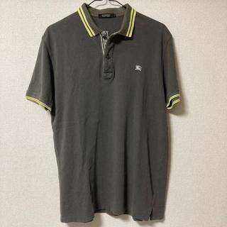 バーバリーブラックレーベル(BURBERRY BLACK LABEL)のバーバリーブラックレーベル ポロシャツ カーキ(ポロシャツ)