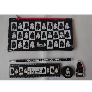ハロッズ(Harrods)の【らんらん様専用】Harrodsハロッズ文房具セット(ペンケース/筆箱)