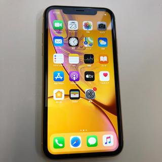 アイフォーン(iPhone)のiPhoneXR 64 64612(スマートフォン本体)