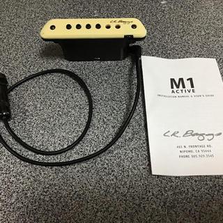 L.R.Baggs M1active アコースティックギター用ピックアップ(パーツ)