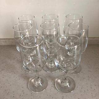東洋佐々木ガラス - ワイングラス 8個セット ゴブレット ガラス グラス コップ 脚付きグラス