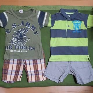 motherways - 男の子90 まとめ売り ポロシャツ Tシャツ ハーフパンツ