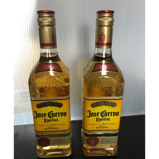 ホセ・クエルボ エスペシャル レポサド 750ml瓶 テキーラ 2本セット(蒸留酒/スピリッツ)