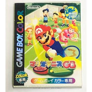 ゲームボーイ(ゲームボーイ)のGB マリオテニスGB(携帯用ゲームソフト)