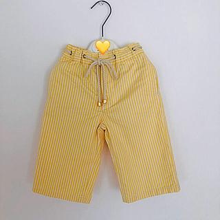 セリーヌ(celine)のCELINE 黄色ストライプパンツ 100(パンツ/スパッツ)