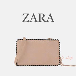 ザラ(ZARA)のZARA 新品★レザー スェード ショルダーバッグ★(ショルダーバッグ)