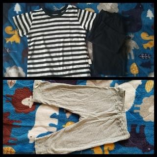 シマムラ(しまむら)のベビー服 Tシャツ ハーフパンツ レギンス(Tシャツ)
