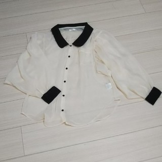 サルース(salus)の透けボリューム袖シャツ(シャツ/ブラウス(長袖/七分))