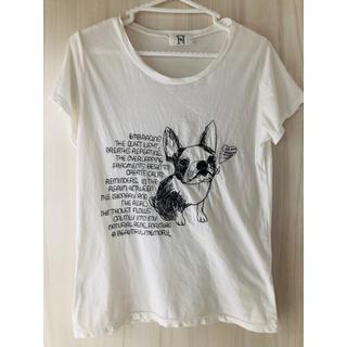 アールエヌエーエヌ(RNA-N)のフレンチブルドッグ刺繍Tシャツ(Tシャツ(半袖/袖なし))