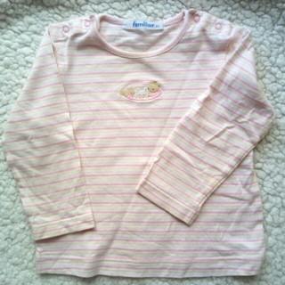 ファミリア(familiar)のファミリア ロングTシャツ 80(Tシャツ)