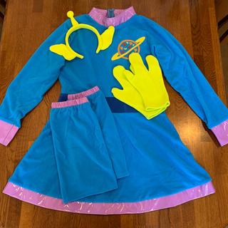 ディズニー(Disney)のディズニー コスプレ衣装 エイリアン リトルグリーンメン(衣装一式)
